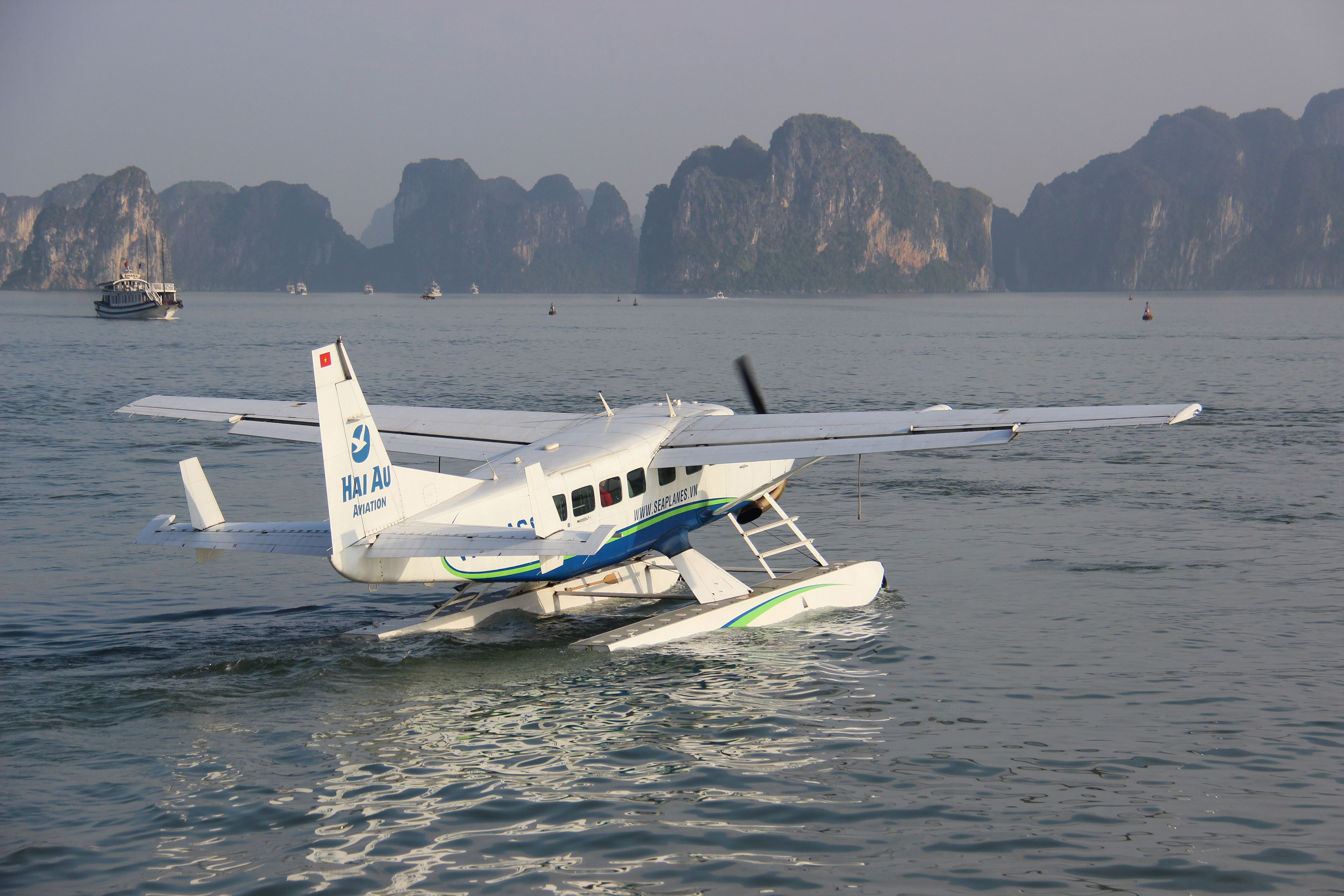 Halong by Seaplane